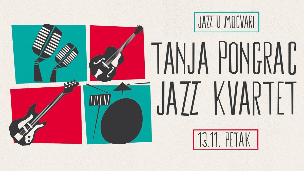 tanja pongrac jazz kvartet - jazz u močvari - 2020