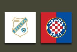 rijeka - hajduk - ht prva liga - 2020/2021