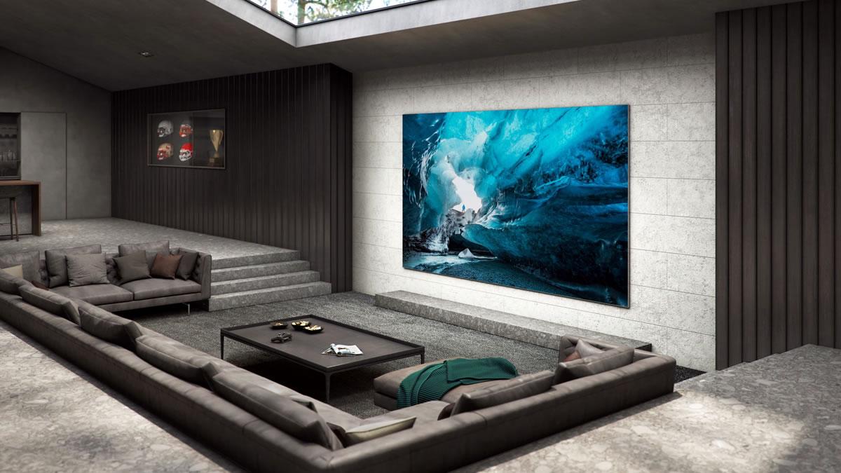 samsung microled tv / 2021.