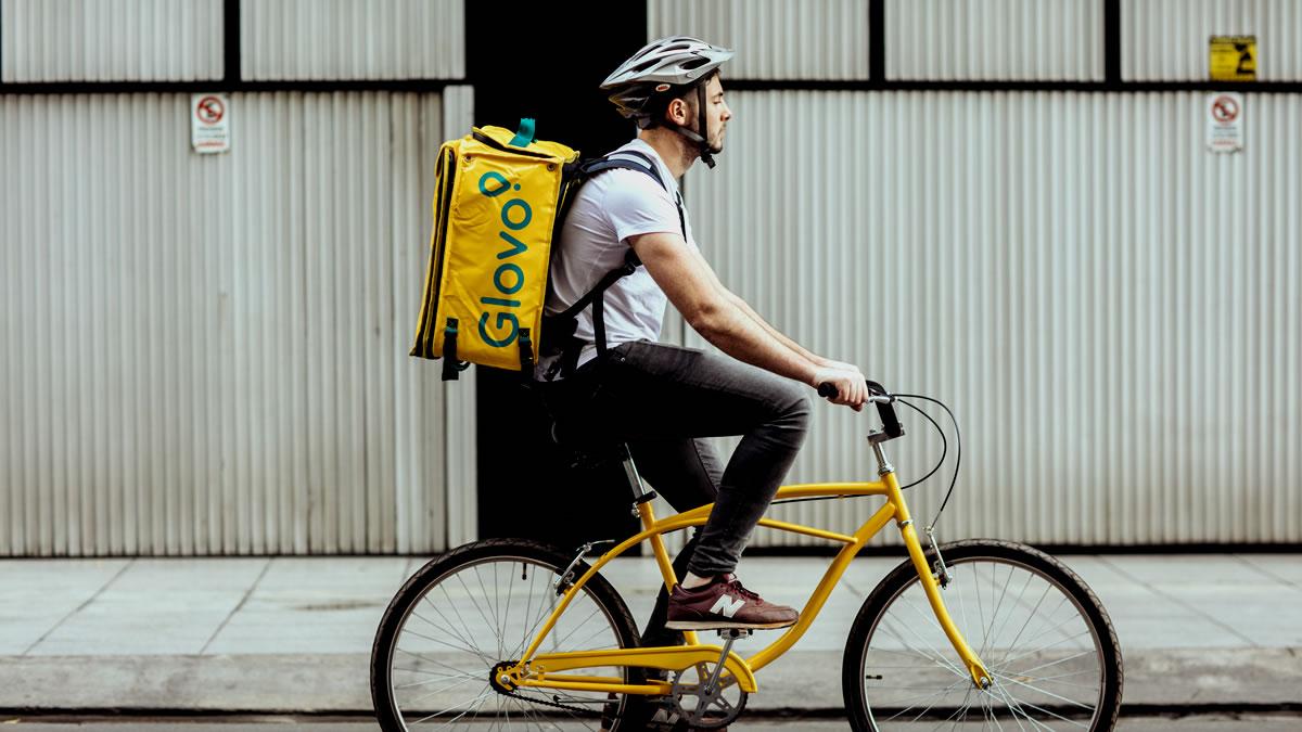 dostavni bicikl - glovo hrvatska - 2021.