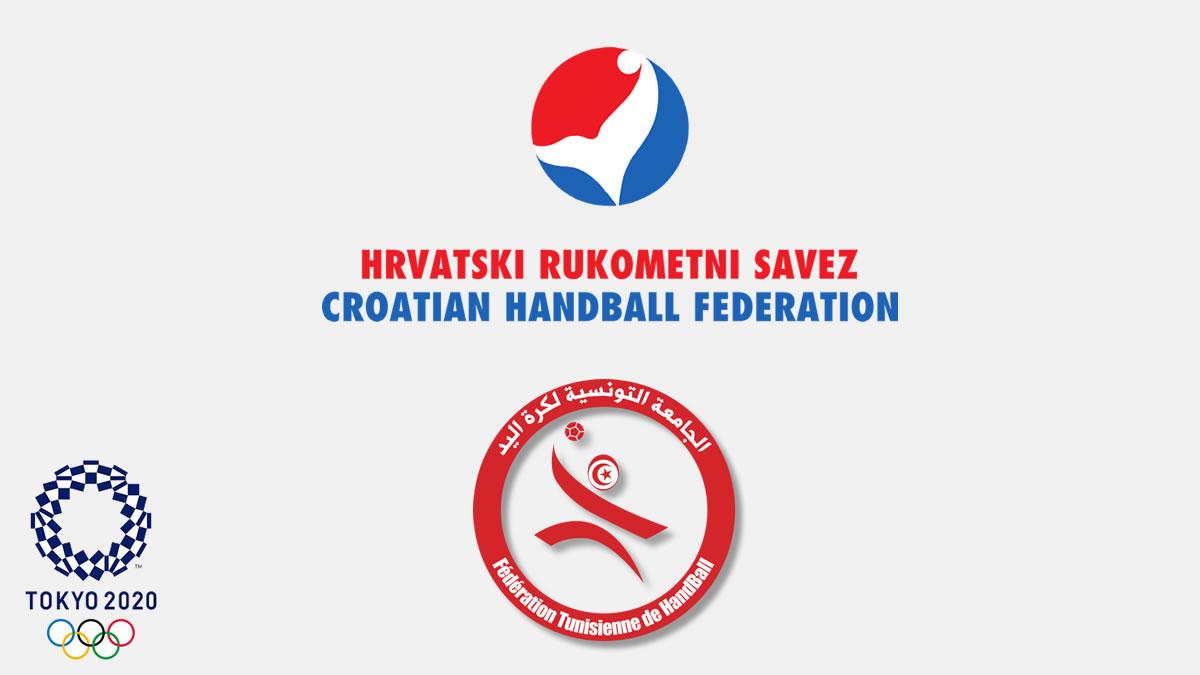 hrvatska - tunis - oi tokio 2020