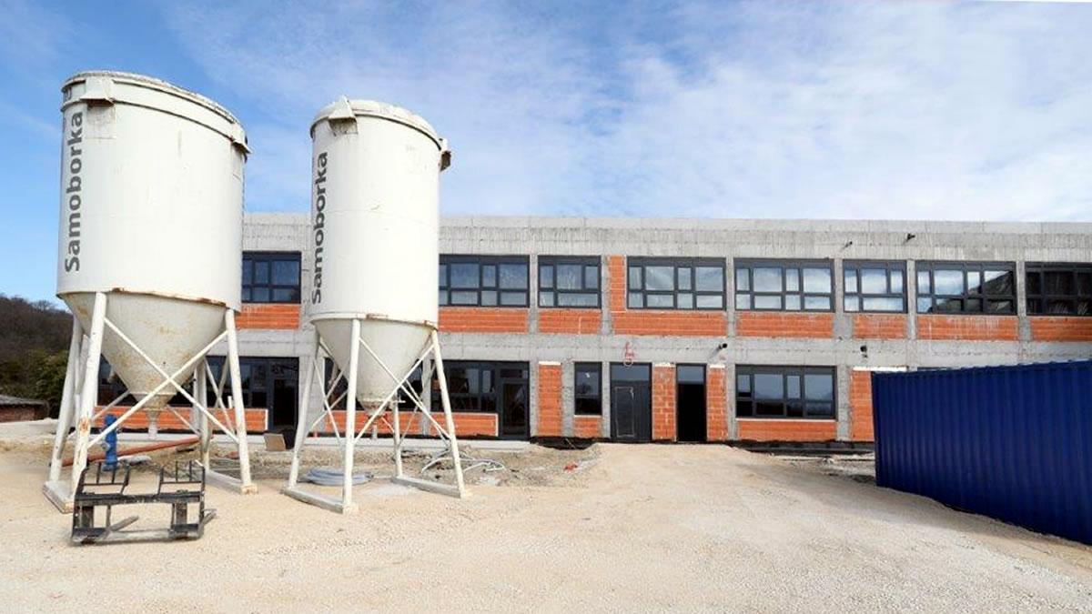 osnovna škola luka u izgradnji / općina luka, zagrebačka županija / ožujak 2021.