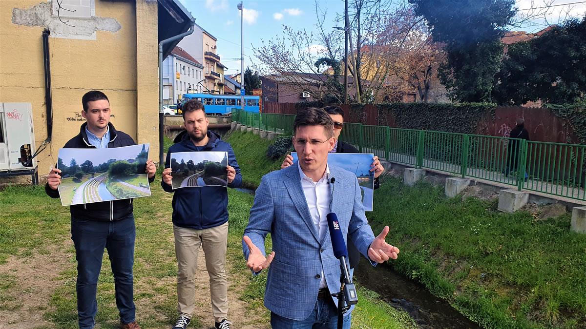 zvonimir troskot - zagrebačke promenade - 2021.