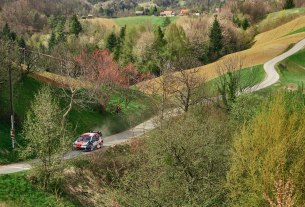 asphalt uphill track - wrc croatia rally 2021 - foto: mario pavlović