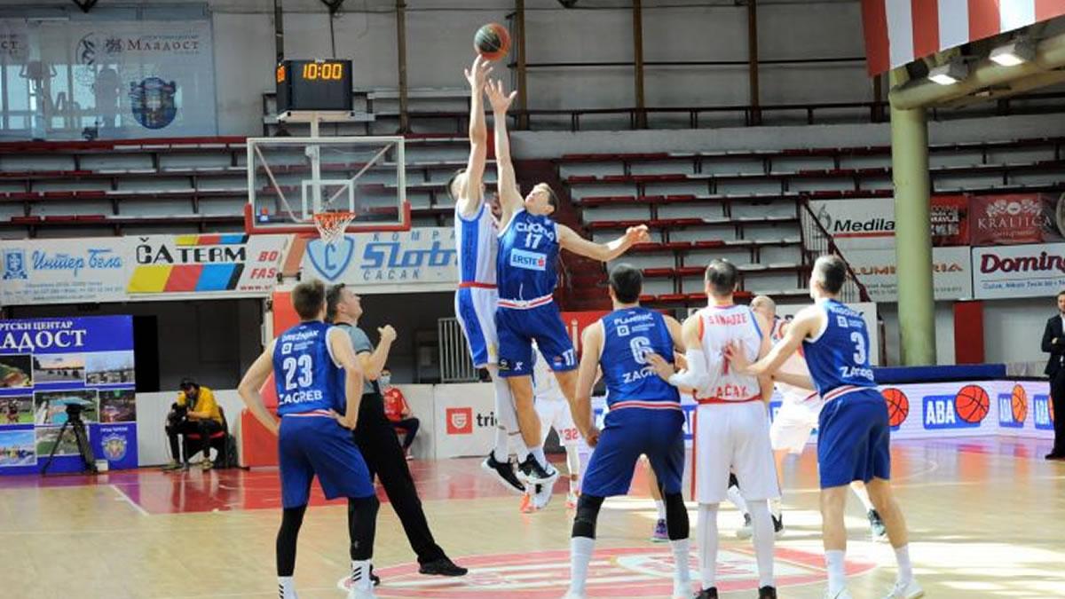 borac - cibona / 26. kolo ABA liga 2021