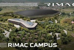rimac campus - kerestinec zagreb croatia - 2021.