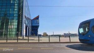 tramvaj - stadion maksimir - dinamo zagreb - ožujak 2021.