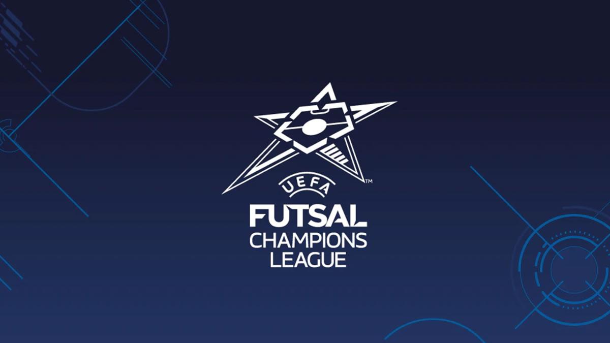 uefa futsal champions league / logo 2021.