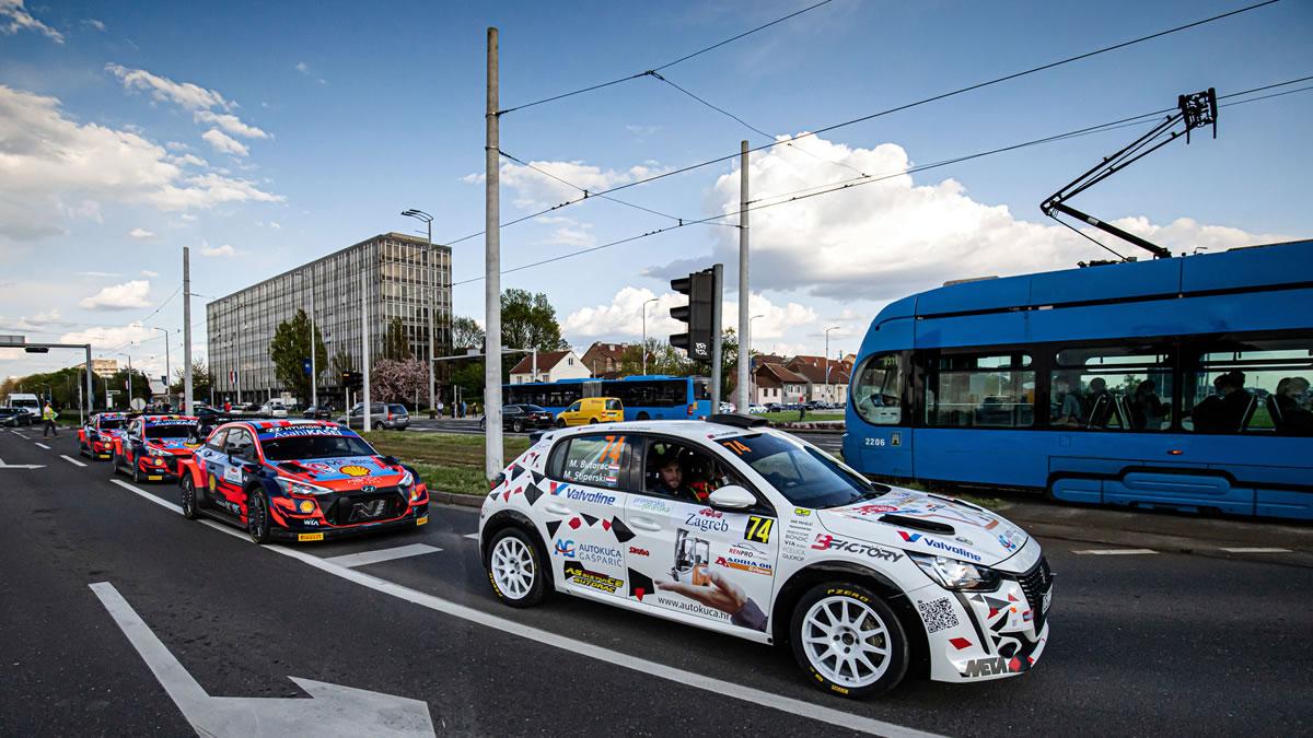zagreb - wrc croatia rally 2021 - foto: uroš modlić