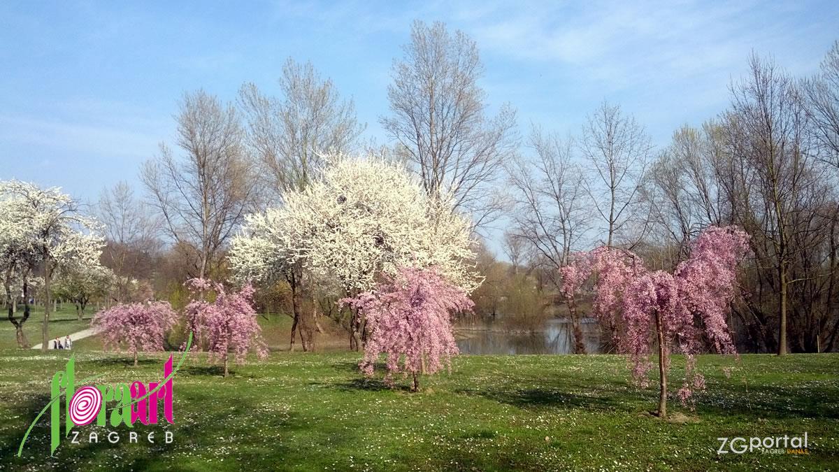 floraart - park-jezero bundek, zagreb - 2016.