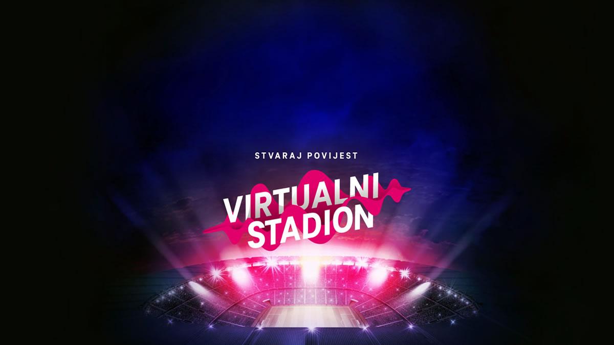 """navijačka pjesma """"igraj moja hrvatska"""" / virtualni stadion - hrvatski telekom / 2021."""