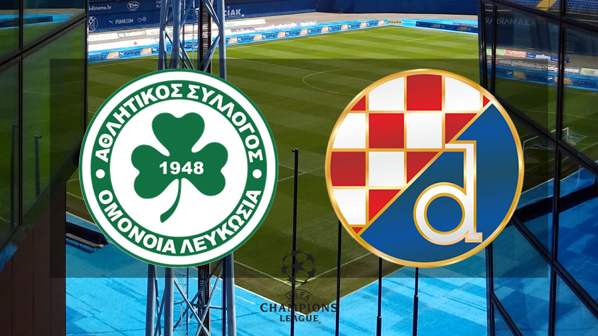omonia nicosia - dinamo zagreb / uefa champions league 2021./2022.