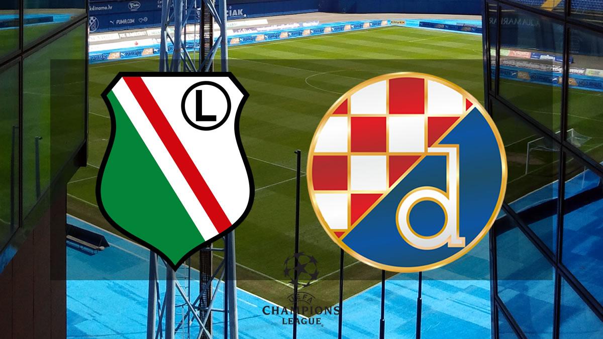 legija varšava - dinamo zagreb - uefa champions league 2021-2022