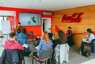 raise the bar akademija / coca cola zagreb / 2021.