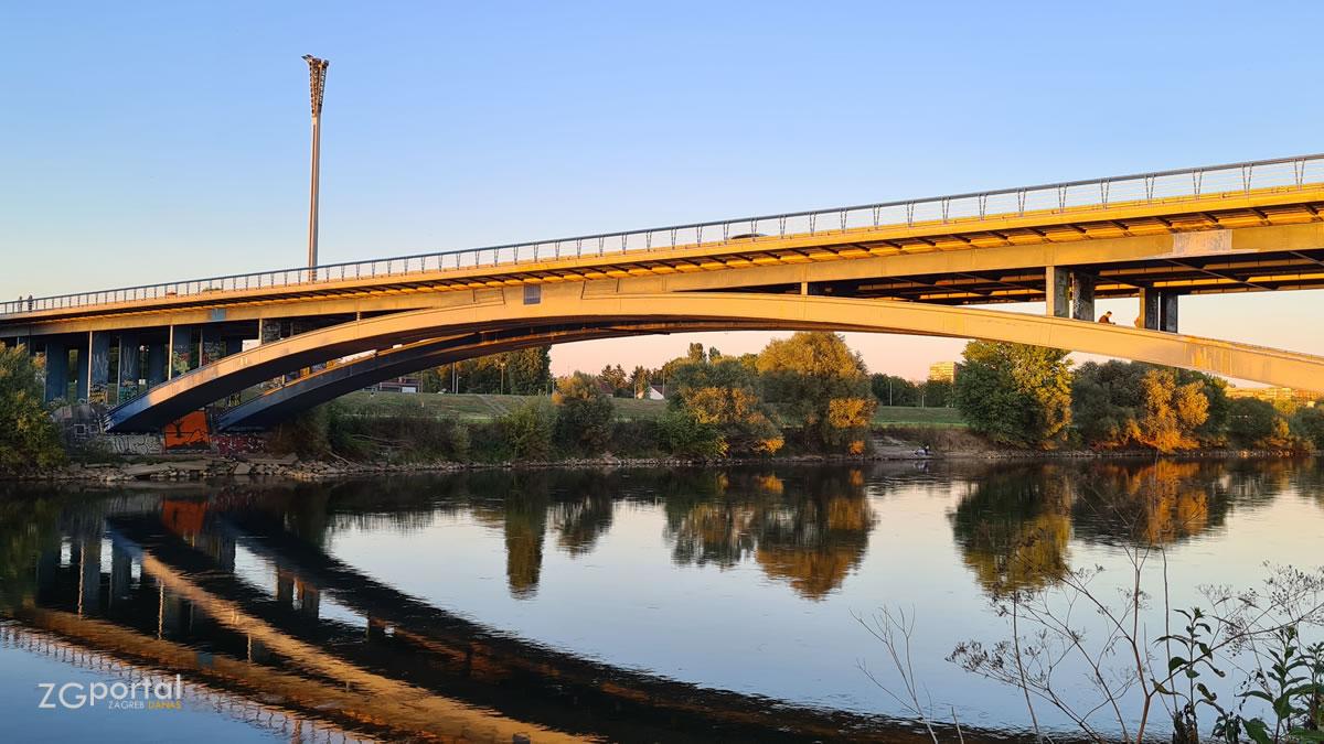 most slobode zagreb - liberty bridge zagreb - rujan 2021.