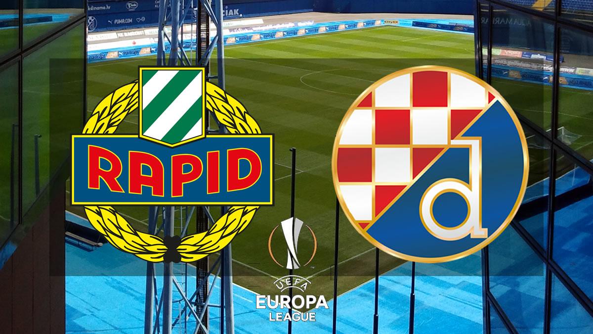 rapid wien - dinamo zagreb / uefa europa league 2021.-2022.