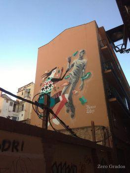 Harsa y Stop. Calle Contamina