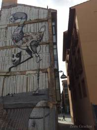 CNFSN y Malakai. Calle Perena