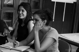 Irene Lozano y María Irún