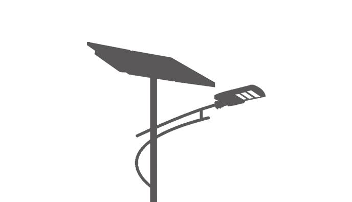 Cheap Price Split Solar LED Street Light, Intelligent