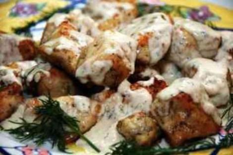Филе гуся рецепт на сковороде.  Нежное сочное мясо быстро готовится.