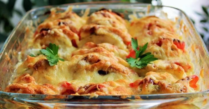 Кабачки курица помидоры сыр. Два вкуснейших блюда из духовки.