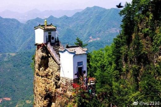 世界最危險房子在中國 神奇屹立400年不倒   法輪大法正見網