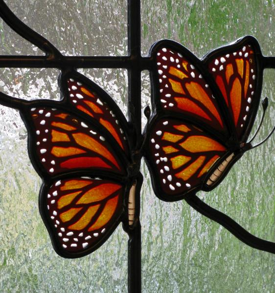 Unique Stained Glass Panels - Reflective Collections
