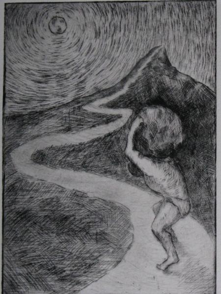 The Myth Of Sisyphus  Michael Smith Artist