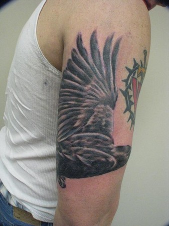Nick Friederich - Raven Tattoo