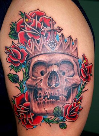 Looking for unique Evil tattoos Tattoos? Skull Tattoo