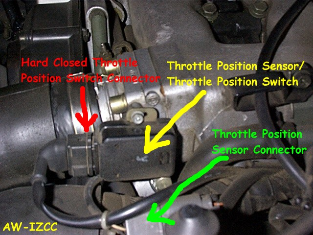 Throttle Pedal Position Sensor Switch A Circuit