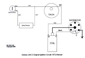 Tachometer Wiring question  Nissan : Datsun ZCar forum