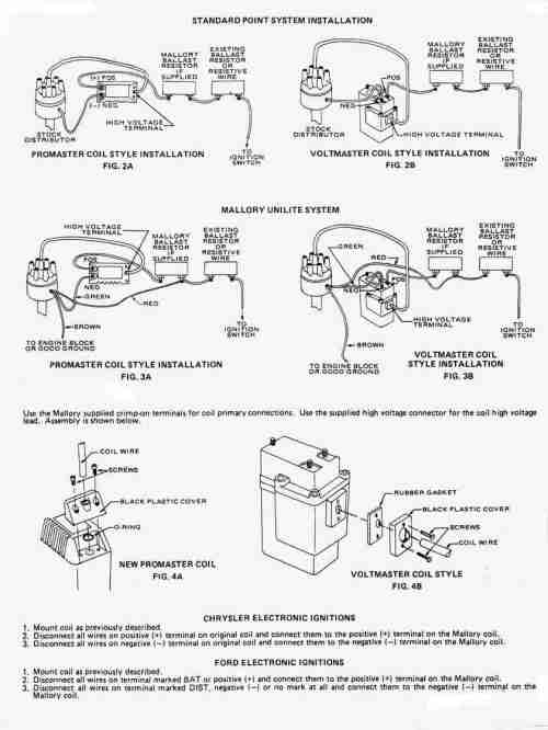 small resolution of mallory unilite hook up u003cbr u003e for 72 datsun 240zmallory promaster coil wiring diagram