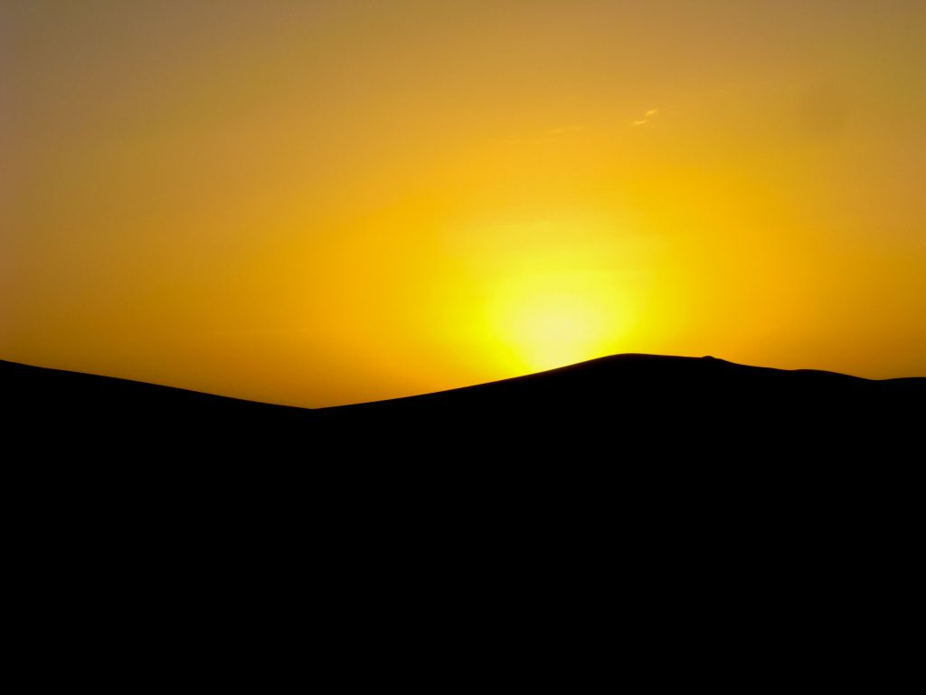 sunset-in-dunhuang_10155301815_o