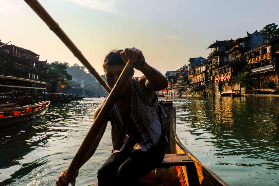boatman-in-fenghuang_15299528749_o