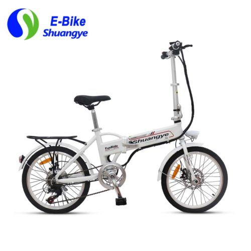 20 inch aluminum alloy city folding electric bike