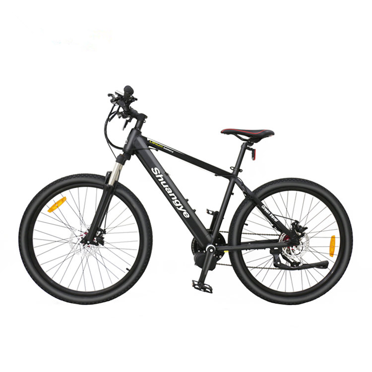 Mountain electric bike with bafang mid drive motor