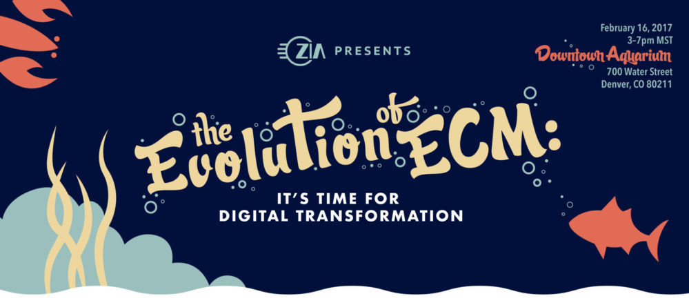 Presentation and Happy Hour—The Evolution of Enterprise Content Management: It's Time for Digital Transformation