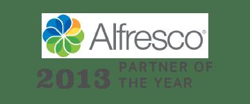 Alfresco Partner of the Year 2013