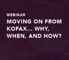 Moving On From Kofax… Why, When, and How?