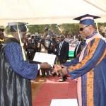Université Lansana Conté de Sonfonia: le président Alpha Condé fait Dr Honoris Causa