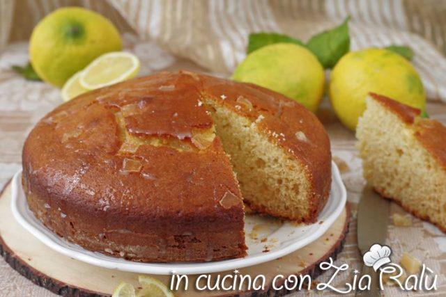 torta ai limoni all'olio