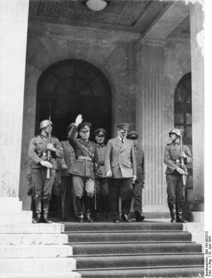 Ion Antonescu si Adolf Hitler - Munchen, 12 iunie 1941 - via Ziaristi Online