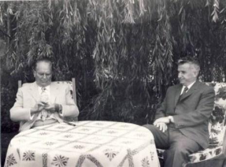 1974 Intalnire Ceausescu - Tito la Neptun