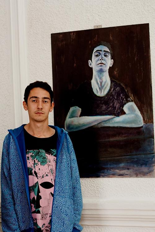 pictorul Matei Dumitriu (1)