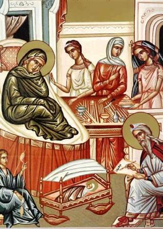 Naşterea Sfîntului Ioan Botezătorul