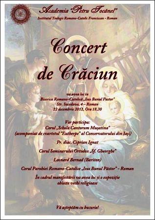 Concert ecumenic de Crăciun