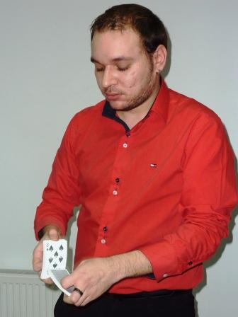 Magicianul cărților de joc