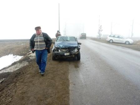 Accident cu cinci victime la Horia